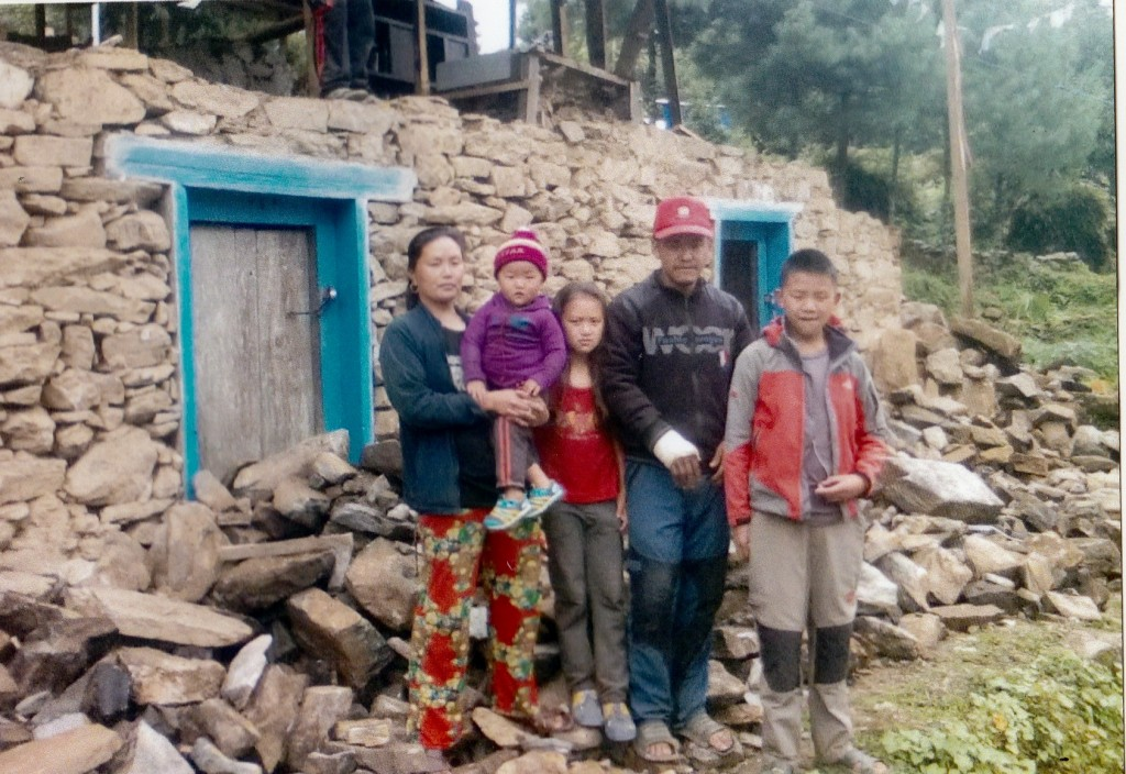 Ngima Nuru and family
